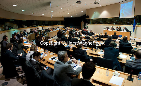 Brussels-Belgium - January 24,  2012 -- 'The Marine Sciences in Europe 2014-2020: A German Perspective' - a conference at the European Parliament hosted by KDM (Konsortium Deutsche Meeresforschung / German Maritime Research Consortium) -- Photo: © HorstWagner.eu