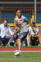 Napoli Calcio ritiro precampionato a Dimaro ( TN)  18 Luglio 2014<br /> nella foto   Jose Callejon <br /> Napoli soccer pre season summer training in Dimaro