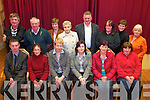 CERTS; Recipients of FETAC Certs in Computer Literarcy at Listry Community Centre last week, front l-r: Jeremy Wrenn (Kerry Education Service), Mary Riordan, Mary McSweeney (Tutor), Shivaun O'Sullivan (Kerry Education Service), Carmel McCarthy, Catherine Courtney. Back l-r: Gerard O'Leary, Eamonn Hobbins, Kathleen Hobbins, Patricia Northover, John Lehane, Noreen Doona O'Sullivan, Margaret O'Sullivan, Deirdre Axworthy.   Copyright Kerry's Eye 2008