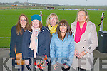 HURLING: Having a great time at the Patrick O'Mahony senior hurling tournament at Ballyheigue on Saturday l-r: Sinead Jefferson, Susan Higgins, Kitty Higgins, Angela O'Mahony and Mary Fuller.
