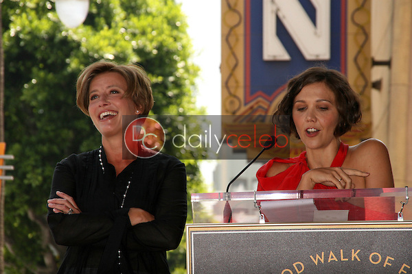 Emma Thompson and Maggie Gyllenhaal<br />