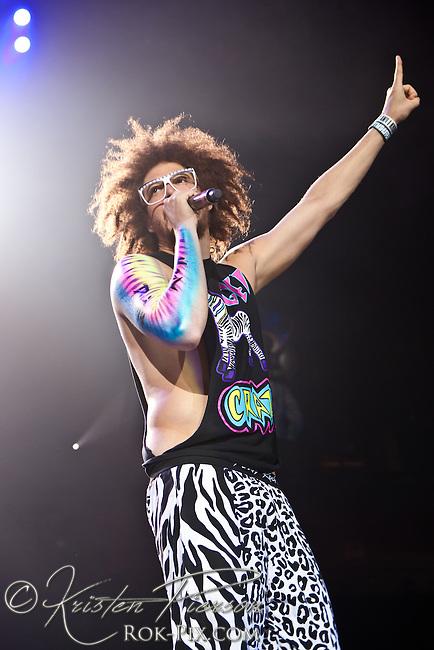 LMFAO at Mohegan Sun Arena, Uncasville, CT, June 28, 2012.
