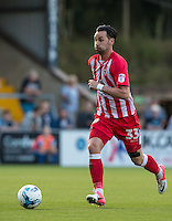 Chris Eagles of Accrington Stanley in action during the Sky Bet League 2 match between Wycombe Wanderers and Accrington Stanley at Adams Park, High Wycombe, England on 16 August 2016. Photo by Andy Rowland.