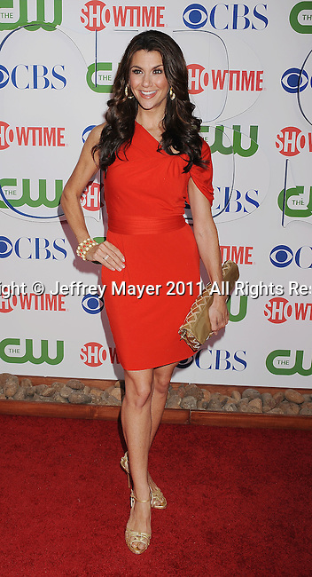 BEVERLY HILLS, CA - AUGUST 03: Samantha Harris arrives at the TCA Party for CBS, The CW and Showtime held at The Pagoda on August 3, 2011 in Beverly Hills, California.