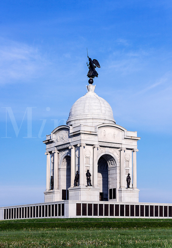 State of Pennsylvania Monument, Gettysburg National Military Park, Pennsylvania, USA