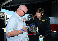 26-28 October, 2012, Las Vegas, Nevada USA, Morgan Lucas, Geico Powersports, Lucas Oil, pit pass, fans @2012, Mark J. Rebilas