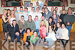 2414-2418.Gary O'Shea from New Marian Park, seated centre having a great time with family and friends at his 21st birthday bash held in The John Mitchell's GAA Club on Saturday night..   Copyright Kerry's Eye 2008