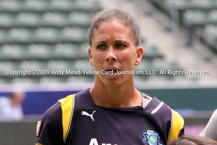 22 August 2009: LA's Shannon Boxx. Sky Blue FC defeated the Los Angeles Sol 1-0 at the Home Depot Center in Carson, California in the inaugural WPS Championship game.