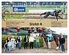 Sladen K winning at Delaware Park on 5/14/12
