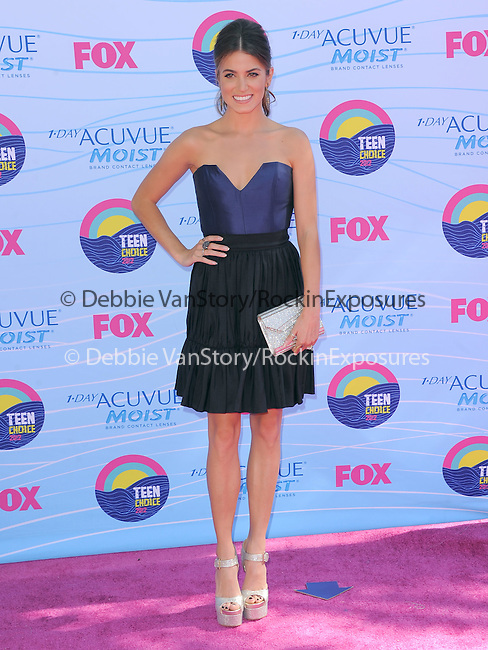 Nikki Reed at FOX's 2012 Teen Choice Awards held at The Gibson Ampitheatre in Universal City, California on July 22,2012                                                                               © 2012 Hollywood Press Agency