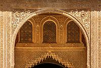 Spanien, Andalusien, Granada: Alhambra - maurischer Baustil | Spain, Andalusia, Granada: Alhambra