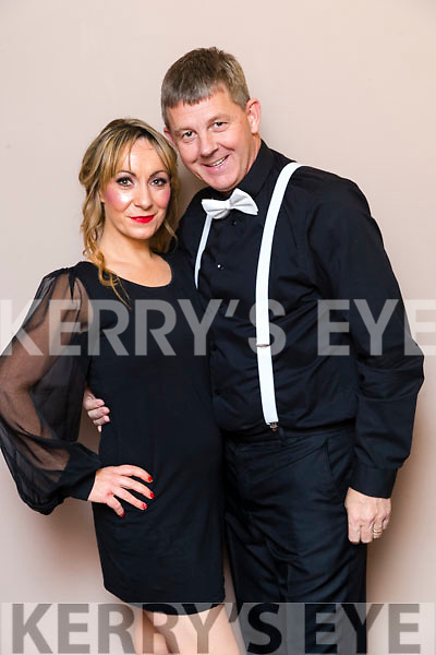 Louise Lovett and Junior Locke Dancers at the John Mitchels GAA 'Strictly Come Dancing' at Ballygarry House Hotel on Sunday night.