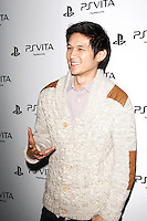 LOS ANGELES, CA - FEB 15: Harry Shum Jr at the Sony PlayStationAE Unveils PS VITA Portable Entertainment System at Siren Studios on February 15, 2012 in Los Angeles, California