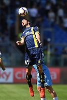 Riccardo Meggioreni of Chievo during the Serie A 2018/2019 football match between SS Lazio and AC Chievo Verona at stadio Olimpico, Roma, April, 20, 2019 <br /> Photo Antonietta Baldassarre / Insidefoto