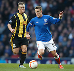 Dean Shiels and Lee Currie..