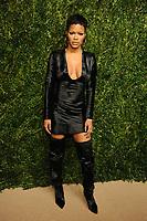 NEW YORK, NY - NOVEMBER 6: Teyana Taylor at the 14th Annual CFDA Vogue Fashion Fund Gala at Weylin in Brooklyn, New York City on November 6, 2017. Credit: John Palmer/MediaPunch /NortePhoto.com