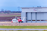 Coastguard Base at Dalcross Inverness Airport<br /> <br /> Image by: Malcolm McCurrach<br /> Fri, 18, March, 2016 |  &copy; Malcolm McCurrach 2016 |  New Wave Images UK | Insertion and use fees apply |  All rights Reserved. picturedesk@nwimages.co.uk | www.nwimages.co.uk | 07743 719366 <br /> <br /> Event Photographer | Corporate Photographer | Editorial Photographer | Music Photographer