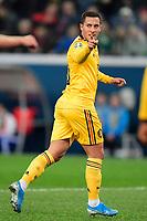 Eden Hazard midfielder of Belgium celebrates scoring a goal   <br /> Saint Petersbourg  - Qualification Euro 2020 - 16/11/2019 <br /> Russia - Belgium <br /> Foto Photonews/Panoramic/Insidefoto <br /> ITALY ONLY