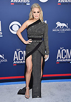 LAS VEGAS, CA - APRIL 07: Carrie Underwood attends the 54th Academy Of Country Music Awards at MGM Grand Hotel &amp; Casino on April 07, 2019 in Las Vegas, Nevada.<br /> CAP/ROT/TM<br /> &copy;TM/ROT/Capital Pictures
