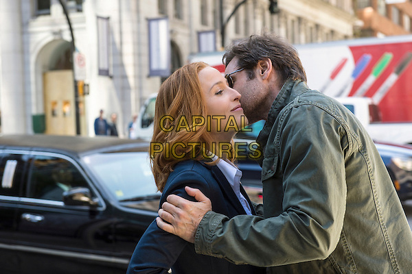 The X-Files (2016)<br /> (Season 1, Episode 1, &quot;My Struggle&quot;)<br /> Gillian Anderson and David Duchovny<br /> *Filmstill - Editorial Use Only*<br /> CAP/KFS<br /> Image supplied by Capital Pictures