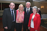 Michael and Dympna Coyle with their daughter Margaret Coyle-Brennan and Bertie Ahern at Jimmy Mulroy's retirement party in the Westcourt Hotel...Photo NEWSFILE/Jenny Matthews.(Photo credit should read Jenny Matthews/NEWSFILE)....This Picture has been sent you under the condtions enclosed by:.Newsfile Ltd..The Studio,.Millmount Abbey,.Drogheda,.Co Meath..Ireland..Tel: +353(0)41-9871240.Fax: +353(0)41-9871260.GSM: +353(0)86-2500958.email: pictures@newsfile.ie.www.newsfile.ie.FTP: 193.120.102.198.