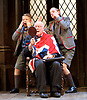 Forty Years On <br /> by Alan Bennett <br /> at Festival Theatre Chichester , Great Britain <br /> press photocall <br /> 25th April 2017 <br /> <br /> Richard Wilson as Headmaster <br /> <br /> <br /> Cameron House as pupil <br /> Alex Phillips as pupil <br /> <br /> <br /> <br /> Photograph by Elliott Franks <br /> Image licensed to Elliott Franks Photography Services