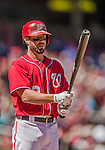 6 April 2014: Washington Nationals outfielder Kevin Frandsen steps up to the plate during a game against the Atlanta Braves at Nationals Park in Washington, DC. The Nationals defeated the Braves 2-1 to salvage the last game of their 3-game series. Mandatory Credit: Ed Wolfstein Photo *** RAW (NEF) Image File Available ***