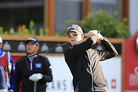 Brandon Stone (RSA) tees off the 1st tee during Thursday's Round 1 of the 2017 Omega European Masters held at Golf Club Crans-Sur-Sierre, Crans Montana, Switzerland. 7th September 2017.<br /> Picture: Eoin Clarke | Golffile<br /> <br /> <br /> All photos usage must carry mandatory copyright credit (&copy; Golffile | Eoin Clarke)
