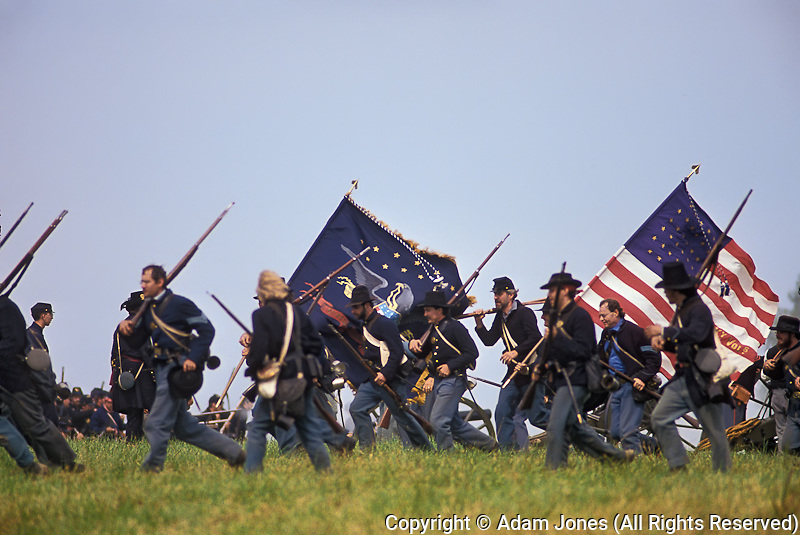 Historic Battle of Perryville reenactment, Perryville, Kentucky