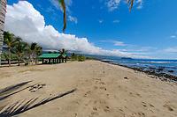 Diamond Princess cruise ship, Old Airport state park, Kailua Kona, The Big Island of Hawaii