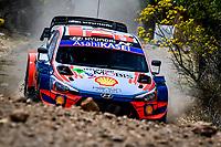 13th March 2020, Guanajuato, Mexico; WRC Rally of Mexico;  Dani Sordo ESP  CarlDel Barrio ESP - Hyundai i20 WRC, Motorsport Rally
