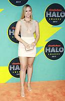 NEW YORK, NY - NOVEMBER 4:  Alisha Marie at the 2017 Nickelodeon Halo Awards at Pier 36 in New York City on November 4, 2017. Credit: RW/MediaPunch