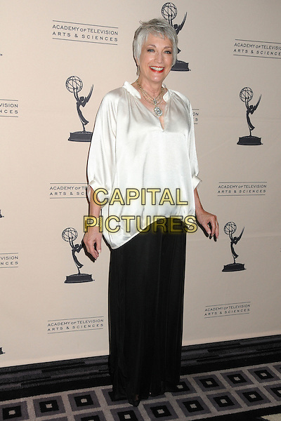 Randee Heller.Academy of Television Arts & Sciences' Performers Peer Group Celebrates the 63rd Primetime Emmy Awards held at the Sheraton Universal Hotel, Universal City, California, USA..August 22nd, 2011.full length white top black skirt silk satin.CAP/ADM/BP.©Byron Purvis/AdMedia/Capital Pictures.