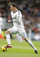 Real Madrid's Cristiano Ronaldo during La Liga match. December 16, 2012. (ALTERPHOTOS/Alvaro Hernandez)