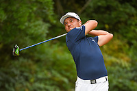 Xander Schauffele (USA) watches his tee shot on 13 during round 2 of the 2019 Tour Championship, East Lake Golf Course, Atlanta, Georgia, USA. 8/23/2019.<br /> Picture Ken Murray / Golffile.ie<br /> <br /> All photo usage must carry mandatory copyright credit (© Golffile | Ken Murray)