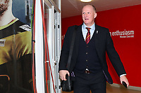 Bradford City manager Simon Grayson during the Sky Bet League 1 match between Doncaster Rovers and Bradford City at the Keepmoat Stadium, Doncaster, England on 19 March 2018. Photo by Thomas Gadd.