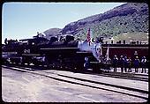 D&amp;RGW #481 K-36 - Durango Centennial celebration 1981.<br /> D&amp;RGW  Durango, CO  1981