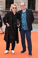 Jennifer Saunders and Ade Edmondson<br /> at the Royal Acadamy of Arts Summer Exhibition opening party 2017, London. <br /> <br /> <br /> &copy;Ash Knotek  D3276  07/06/2017