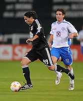 DC United forward Jaime Moreno (99). CD Cruz Azul defeated DC United 1-0 ,  in the first leg of the group A of the Concacaf Champions League, Wednesday October 1st, 2008 at RFK Stadium.