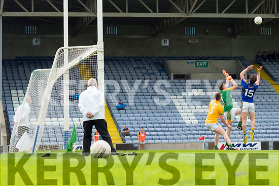 Tomás Ó Sé scores a goal against Meath in the All Ireland Junior Football Final at O'Moore Park, Portlaoise on Saturday.