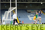Tomás Ó Sé scores a goal against Meath in the All Ireland Junior Football Final at O'Moore Park, Portlaoise on Saturday.