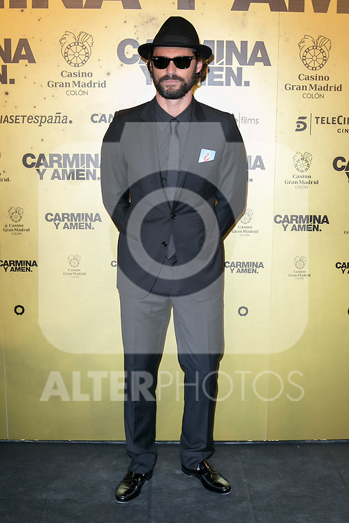 "Spanish actor Ivan Sanchez attend the Premiere of the movie ""Carmina y Amen"" at the Callao Cinema in Madrid, Spain. April 28, 2014. (ALTERPHOTOS/Carlos Dafonte)"