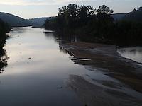 Turkey River at Osterdock, Iowa.