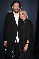 """LOS ANGELES - OCT 29:  Nash Edgerton, Carla Ruffino at the """"Boy Erased"""" Premiere at the Directors Guild of America Theater on October 29, 2018 in Los Angeles, CA"""