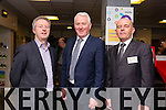 At the official opening of the Intreo office in Godfrey Place by Tánaiste, Joan Burton. Pictured Eamonn O Reilly, NEKD, Jerry Maloney ,Enterprise Ireland, Ger Curtin, Area manager, Edward St.