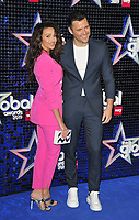 Michelle Keegan and Mark Wright at the Global Awards 2019, Hammersmith Apollo (Eventim Apollo), Queen Caroline Street, London, England, UK, on Thursday 07th March 2019.<br /> CAP/CAN<br /> &copy;CAN/Capital Pictures