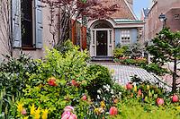 Town house, Society Hill, Philadelphia, Pennsylvania, USA