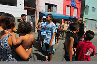 SAO PAULO, SP, 10.09.2013 - REINTEGRACAO DE POSSE MOOCA -  Moradores resistem durante reintegracao de posso no bairro da Mooca regiao leste de São Paulo na tarde desta terça-feira, 10. (Foto: Jorge Andrade / Brazil Photo Press).