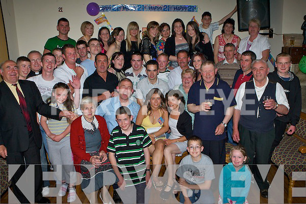 9700-9702..21st Key to the Door - Eileen Kerin from Flemby, Ballymacelligot having a ball with friends and family at her 21st birthday bash held in The Glen Bar, Boherbue on Saturday night. ..Kerin correct................   Copyright Kerry's Eye 2008