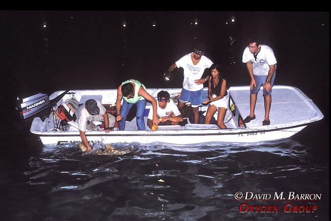 Sam Gruber & Jean Helping Rick Kirkham With Lemon Shark with Joao, Aya and Jon